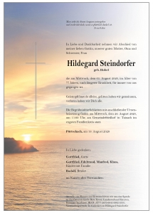 Steindorfer Hildegard