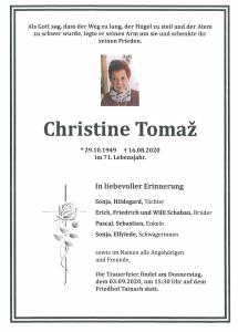 Tomaž Christine