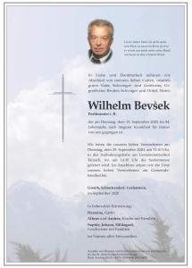 Bevšek Wilhelm