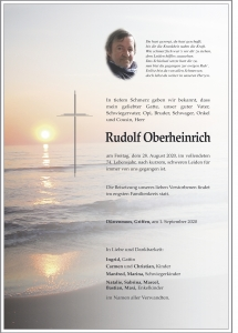 Oberheinrich Rudolf